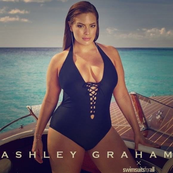 a7cc7ea441 Ashley Graham swimsuit NWT